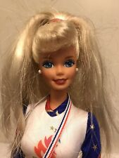 Barbie vestida con 1996 Juego Olímpico Gymnist Traje De Atlanta