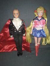 Sailor Moon Doll Milord Lotto Due Bambole Vintage leggi descrizione