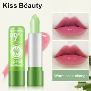Aloe Vera 1PC Lipstick Lip Stick Moisturizing Color Changing Long Lasting NEW ty