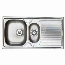 Astracast Aegean 1.5 Bowl kitchen Sink Stainless Steel Seller