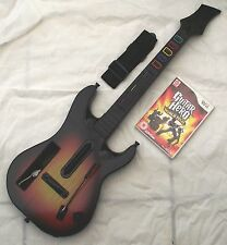 Guitar hero world tour guitare bundle wii pal