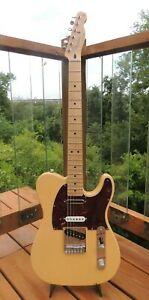 2011 Fender Nashville Deluxe Telecaster Electric Guitar Butterscotch w/Gig Bag