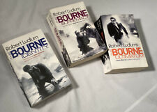 Jason Bourne Books Bourne Identity Bourne Supremacy Bourne Ultimatum Paperback 3