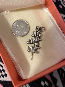 *UNIQUE* RETIRED AND RARE James Avery Bluebonnet Pin Converted To Charm