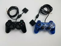 Sony Playstation PS2 Dualshock 2 Controllers  (SCPH-10010) Authentic 2 Pack