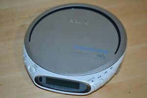 Sony Walkman D-FJ210 Portable CD TV/Weather/Radio & CD-R/RW Player Tested Works
