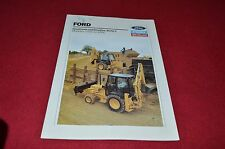 Ford Tractor 555C 655C Backhoe Dealer Brochure YABE13 IN DUTCH
