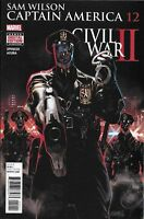 Captain America Comic 12 Sam Wilson Cover A Daniel Acuna First Print 2016 Marvel