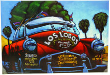 LOS LOBOS Fillmore West Poster (12-5-03) Rock & Roll  NF-602