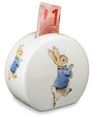 Reutter Porcelain Beatrix Potter Peter Rabbit China Money Bank