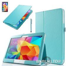 Pu Leather Folio Funda Stand cubrir para diversos Samsung Galaxy Tab Tablets