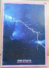 OFFICIAL PROGRAMME DIRE STRAITS SOUVENIR PROGRAMME 1982 1983