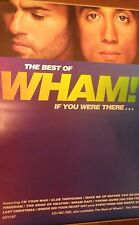 """40x60"""" Huge Subway Poster~Wham! Best of If You Were There 1997 George Michael~"""