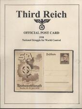 POSTCARD GERMANY BERLIN REICHSWETTKÄMPFE WORLD CONTROL 1938