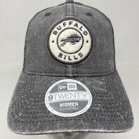 Womens New Era BUFFALO BILLS 9Twenty 920 Gray Snapback Hat Cap