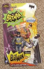 "Mattel DC Batman Classic 1966 TV Series 6"" Adam West Batman MOC Action Figure 66"