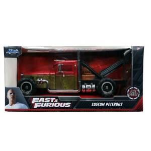 Jada Fast & Furious Hobbs & Shaw: Custom Peterbilt Tow Truck 1/24 Scale