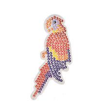 1 Pcs Pegboards for DIY Beads Hama Fuse Beads Clear Bird Design Board  O
