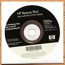 HP RESTORE PLUS • HP COMPAQ DESKTOP PC • CD ORIGINAL • 2005 • MULTILINGUAL