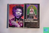 Lot of 2 The Jimi Hendrix Experience Cassettes - Electric Ladyland, Otis Redding
