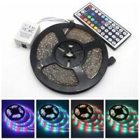 5m SMD 3528 Led-Lichtleiste RGB Flexibel Klebeband Lampe Mit Fernbedienung
