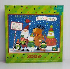 Christmas Seasons Greetings 300 piece Jigsaw Puzzle Ceaco USED