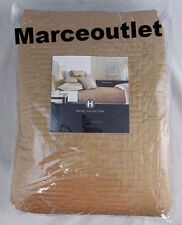 Hotel Collection Mosaic FULL / QUEEN Quilted Coverlet Gold