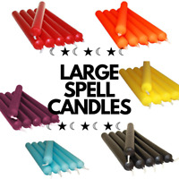 AFFORDABLE LARGE MAGIC SPELL CANDLES | WICCAN / PAGAN / LOVE / ALTAR / BISTRO