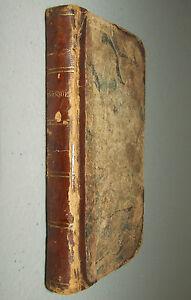 THE BOUQUET Antique Leather Poem Book 1815 New York: David Huntington