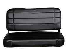 Standard Rear Seat Jeep CJ Wrangler YJ 55-95 Black Denim Smittybilt 8015N