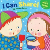 I Can Share!, Paperback by Katz, Karen, Like New Used, Free P&P in the UK