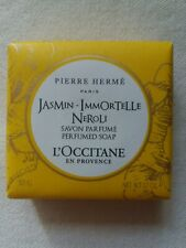 L'Occitane x Pierre Hermé Savon Parfumé Jasmin Immortelle Néroli – 50g – Neuf