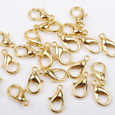 20 x Gold Plated Lobster Clasps 10mm