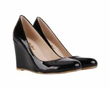 Patent Leather Medium (B, M) Formal Heels for Women