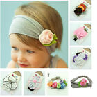 Lovely Newborn Baby Girls Kids Infant Flower Headband Hair Band Headwear Gifts