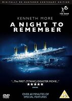 A Night to Remember (Digitally Re-mastered Centenary Edition) [DVD] [1958]