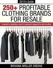 eBook PDF CD 250+ Profitable Clothing Brands For Resale Selling on eBay Clothes
