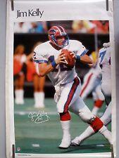 RARE JIM KELLY BILLS 1985 VINTAGE ORIGINAL NFL SI SPORTS ILLUSTRATED POSTER
