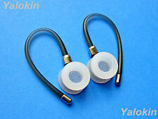 NEW 2 Gray Earhooks loops and 2 Ear-tips for Motorola HX600 Boom, H17 and HX550