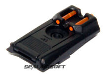 Armorer Works HX Metal Airsoft Toy Fiber Rear Sight For WE (GEN2) AW Hi-Capa GBB