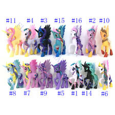 My Little Pony 14cm Princess Action Figure Model Girls Toy Cake Topper NO BOX