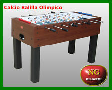 Calcio Balilla OLIMPICO - CALCETTO  - BILIARDINO - NUOVO - ROBUSTO