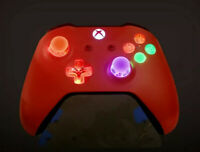 Limited Edition Red Xbox One Controller w LED MOD