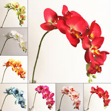 Orchids Crafts Artificial Flower Display Bridal Centerpieces Ornaments Design