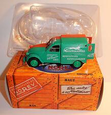 NOREV HACHETTE CITROEN 2CV AZU 1958 MOTOSTANDARD LEMBACH BAS-RHIN 1/43 IN BOX