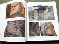"""JEANS OF THE OLD WEST"" VTG LEVI DENIM BUCKLEBACK WORK WEAR PANTS REFERENCE BOOK"