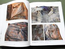 """""""JEANS OF THE OLD WEST"""" VTG LEVI DENIM BUCKLEBACK WORK WEAR PANTS REFERENCE BOOK"""