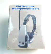 Old 2004 FM Sport Headphone Radio Open  Box