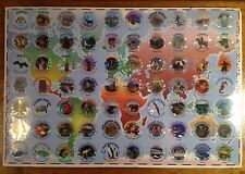Our World, 1995, Factory Sealed Featuring 70 POGS, Animals, Landmarks, Etc.