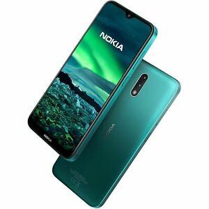 "Nokia 2.3 SmartPhone 6.2"" Helio A22 2GB RAM 32GB 1520x720 IPS LCD Green Unlocked"